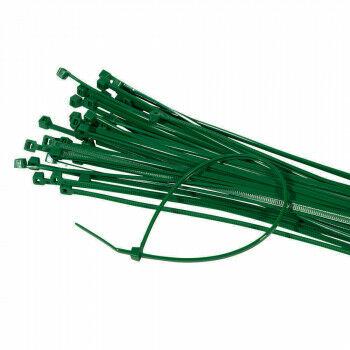 lockstraps of tie-wraps, groen kunststof, 20 cm