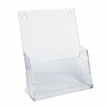 folderstandaard a5 hangend en staand te gebruiken, transparant kunststof, A5, 16.5 x 21.2 cm