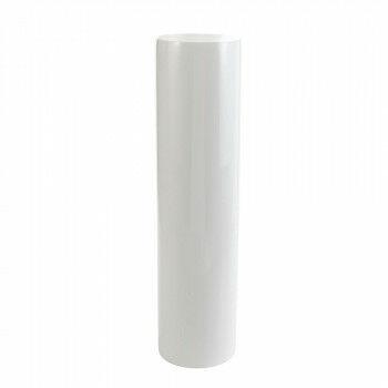 cilinder zuil met hoogglans finish van hoogwaardig glasfiber, wit resin, 120 x 30 cm
