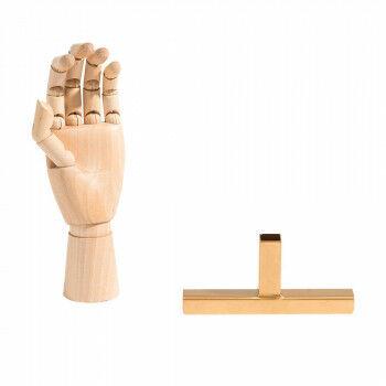 vmframe-tools verbinder onmisbaar onderdeel bij het gebruiken van de tools, goud metaal, 15 x 6.5 x 2 cm