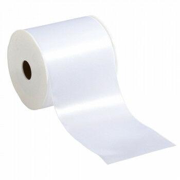 lint basic rol 25 meter, extra stevig, wit textiel, 10 cm