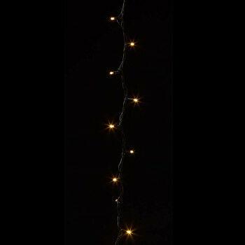 lichtsnoer ledpro outdoor, 5 meter, koppelbare warm witte verlichting,, zwart kunststof, 500 cm