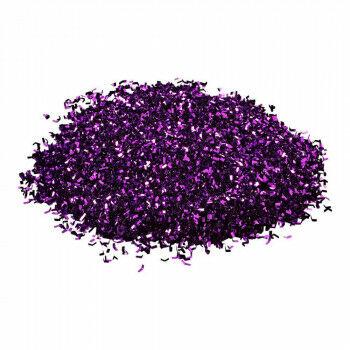 Glitter 'Magic' zakje bedekt ca. 1m², paars kunststof