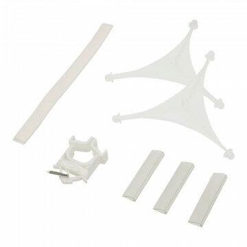 Triarama 'Triad' voor 3 panelen, variabel, b230-1020mm, kunststof, transparant kunststof, 23 x 102 cm