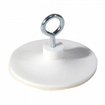 plafondoog zelfklevend zelfklevend nikkel draaibaar oogje, wit kunststof, 3.8 cm