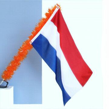 EK Voetbal oranje vlag decoratie