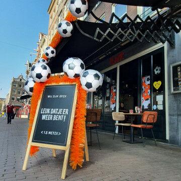 EK Voetbal oranje buitenbord