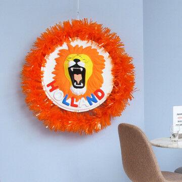 EK Voetbal oranje Holland bord