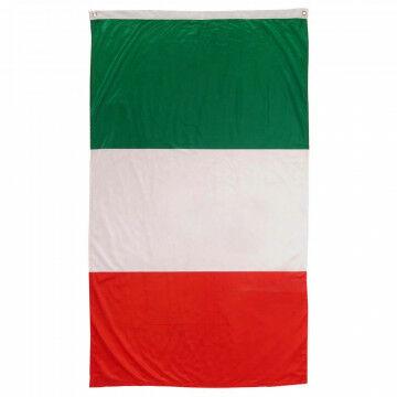 Vlag Italië rood/wit/groen, textiel, 150 x 90 cm