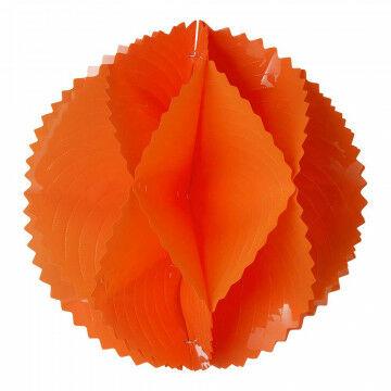 vouwbol sensation maximale uitstraling, minimale volume opslag, oranje kunststof, 60 cm