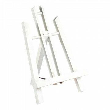 schildersezel 'monet' tafelmodel beukenhout, tafelmodel, wit hout, 30 cm