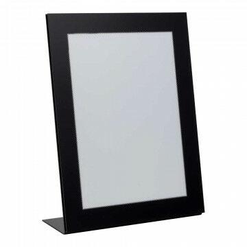 lijst focus staand, zwart acryl, A4, 30 x 21 cm