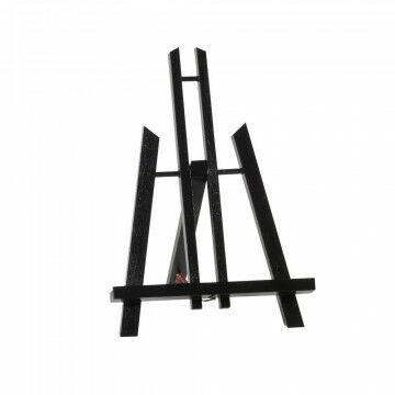 schildersezel monet tafelmodel beukenhout, zwart hout, 30 cm