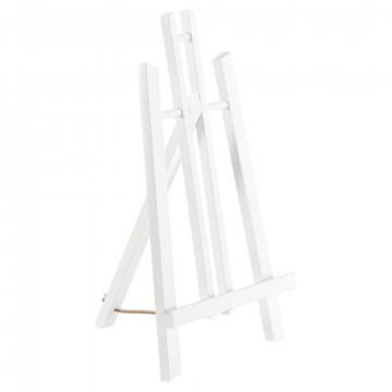 schildersezel monet tafelmodel beukenhout, wit hout, 41 cm