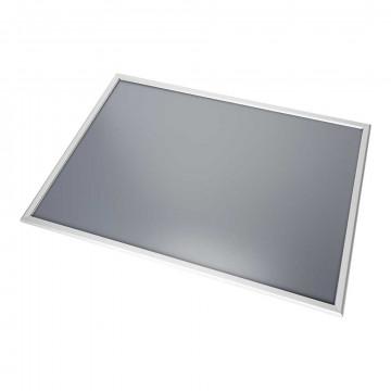 Wissellijst klikklak enkelzijdig, aluminium klikprofiel, zilver kunststof, A0, 84.1 x 118.9 cm