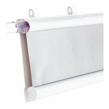 Posterklem tube 'Super grip' 2-delig, klemt materiaal tot 3mm dik, klik-klak, wit kunststof, 50 cm