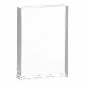 Kaarthouder 'Slip-in' massief acrylaat, transparant kunststof, A7, 7.6 x 10.9 cm