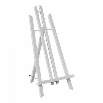Schildersezel 'Monet' tafelmodel beukenhout, tafelmodel, wit hout, 50 cm