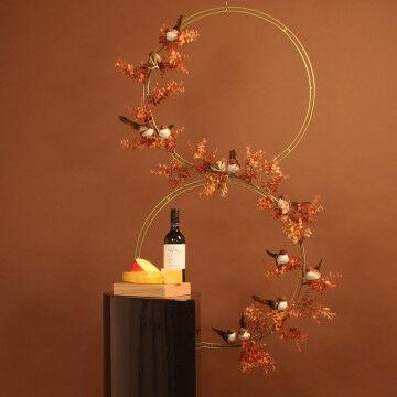 Herfst cirkel decor