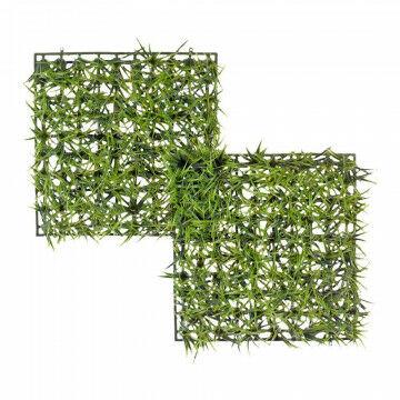 grastegels 5cm hoog, groen kunststof, 25 x 25 x 5 cm