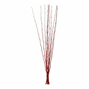 Bamboetakken 'Curly', rood natuur, 150 x 1 cm
