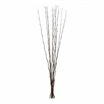 Bamboetakken 'Curly', naturel natuur, 150 x 1 cm