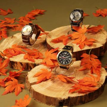 Product presentatie herfst bladeren