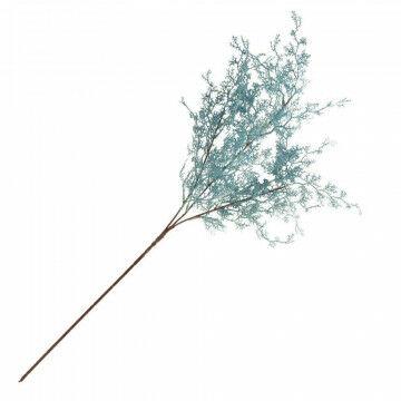 tak roosmarijn, voorzien van metaaldraad in steel, blauw kunststof, 68 cm