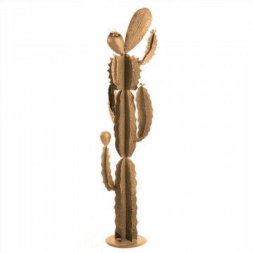 cactus cariño, snel resultaat door afmeting, eye catcher, goud metaal, 40 x 166 cm