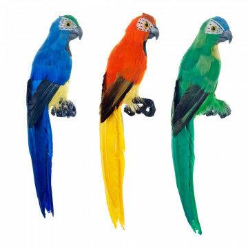 Papegaai 'Inagua' assorti, multi natuur, 30 cm