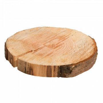 ruwhouten boomschijf direct uit het bos, variërend in doorsnee en dikte, naturel hout