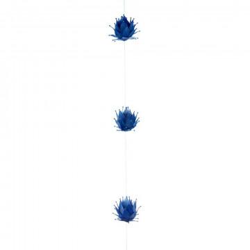 Guirlande Lotus, blauw natuur, 150 cm