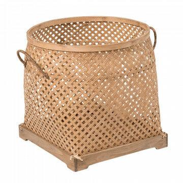 mand sumatra om een marktgevoel mee te creeeren, naturel natuur materiaal, 43 x 42 cm