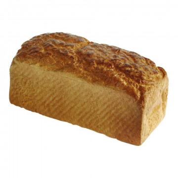 Bruin brood heel brood, bruin kunststof, 21 cm
