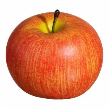 Appels 'Cox', oranje kunststof, 8 cm