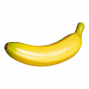bananen met een papiermaché finish voor realistische look, geel kunststof, 24 cm