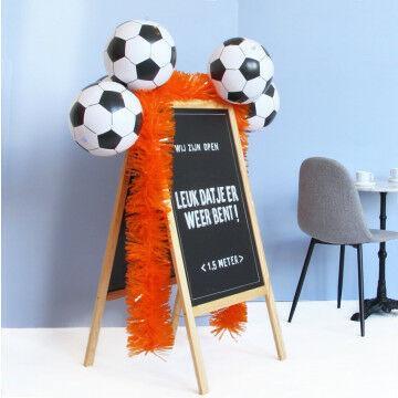 EK Voetbal oranje stoepbord