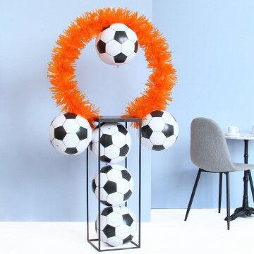 EK Voetbal oranje ballenzuil