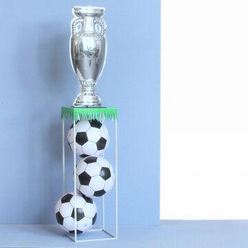 EK Voetbal zuil decoratie