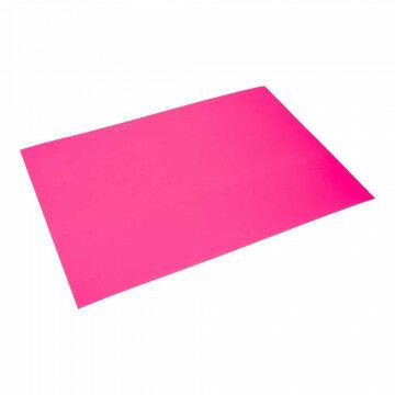 Etalagekarton fluor pink, pink papier, 68 x 48 cm