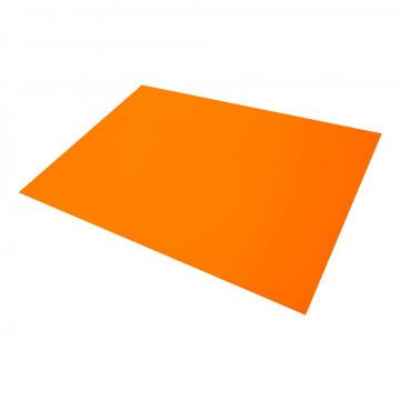 Etalagekarton, oranje papier, 68 x 48 cm