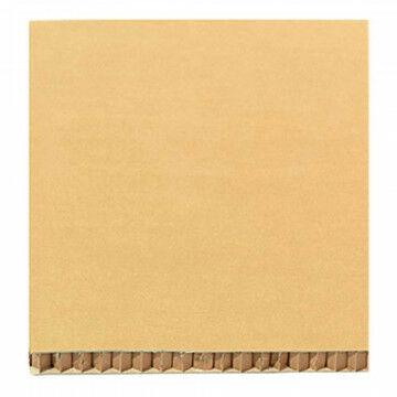 paneel constructive paper honingraad structuur, naturel karton, 120 x 80 cm
