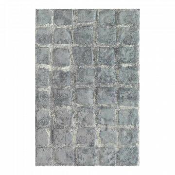 Plaat 'Kinderkopjes' reliëf, grijs kunststof, 90 x 60 cm