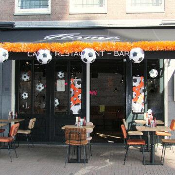 EK Voetbal terras decoratie
