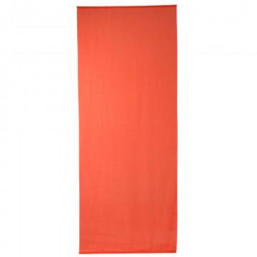 banier uni transparant oranje, oranje textiel, 100 x 250 cm