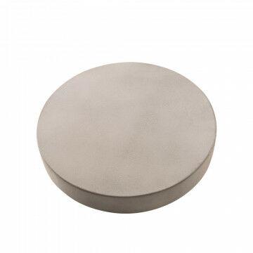 betontopper s, kunststof met betonlaag stoer uiterlijk in een handomdraai neerzetten, grijs kunststof, 5 x 32.5 cm