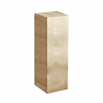 zuil naturel, naturel hout, 30 x 30 x 90 cm