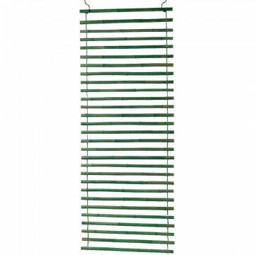 bamboe gordijn gewicht +/- 20 kg, groen bamboe, 250 x 100 cm