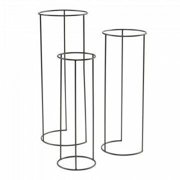 display tafels cilindro los onderstel