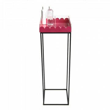 Desinfecteer zuil 98 x 30 cm inclusief acrylaat verdeelbak